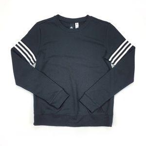 Adidas Black White Long Sleeve Top / Sweatshirt
